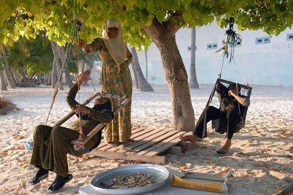 Eydhafushi, Baa Atol, Maldives. Eydhafushi, Baa Atol, Maldives.